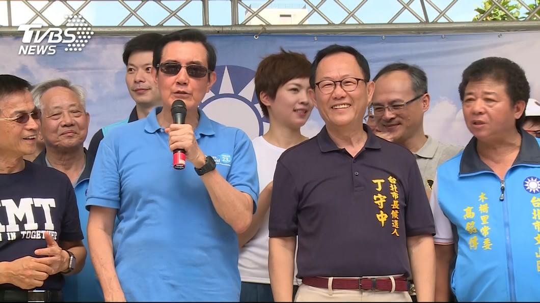 圖/TVBS 藍內鬨?「還是談香蕉吧」 馬拒談吳敦義