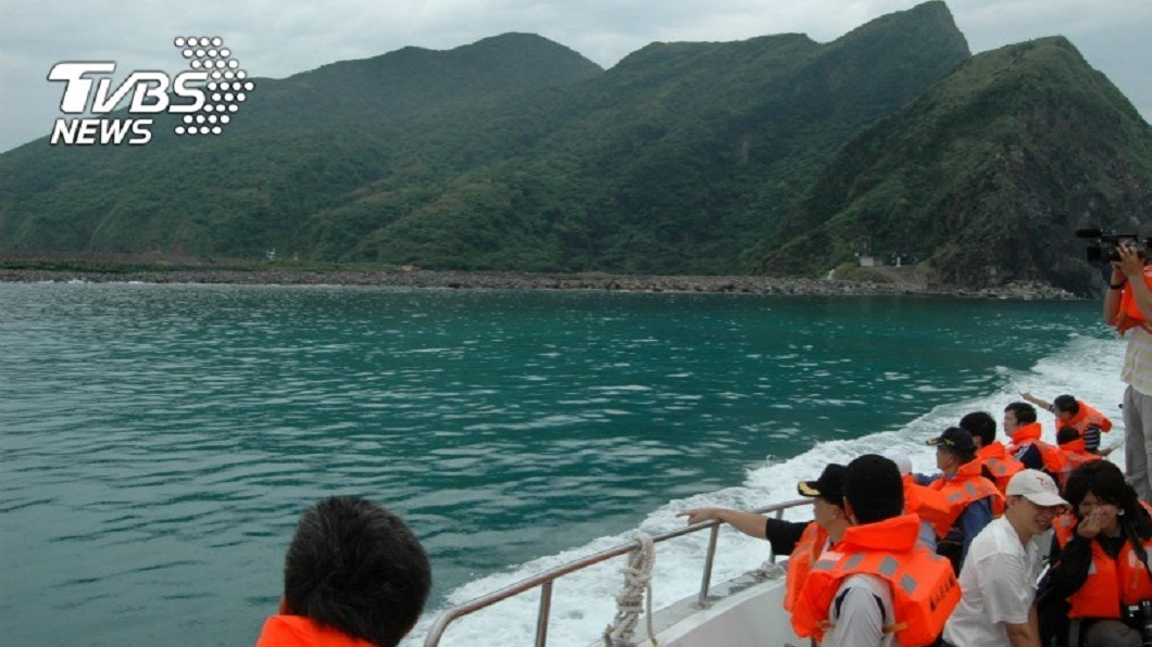 圖/TVBS 龜山島也是活火山! 學者:噴發恐引發小規模海嘯