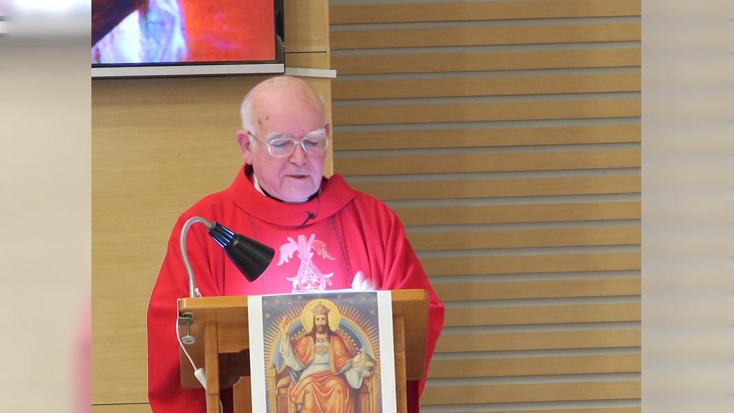 圖/聖嘉民啟智中心臉書粉絲頁 為台貢獻30年 老神父發信「救救我們的病童」