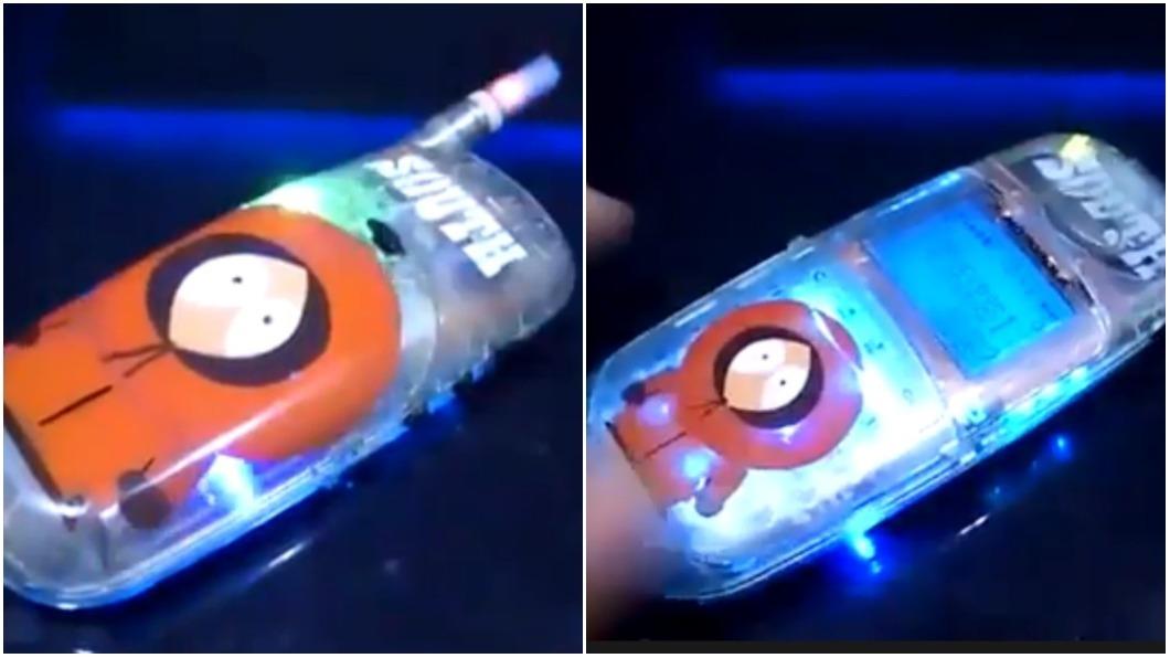CD-928小海豚手機當年火紅程度,和現在的iPhone簡直不相上下。圖/翻攝自臉書「爆廢公社」社團 那些年的「小海豚」 網笑:拿這支妹載不完