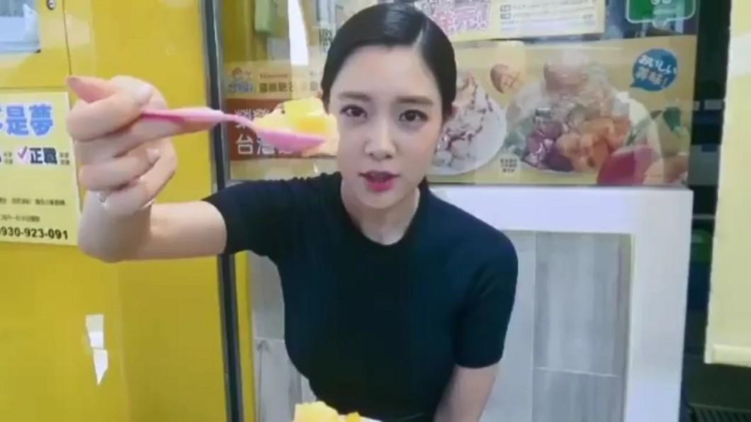 圖/翻攝自克拉拉IG 世界第2美女星祕訪台灣 化身吃貨網美狂PO寶島美食