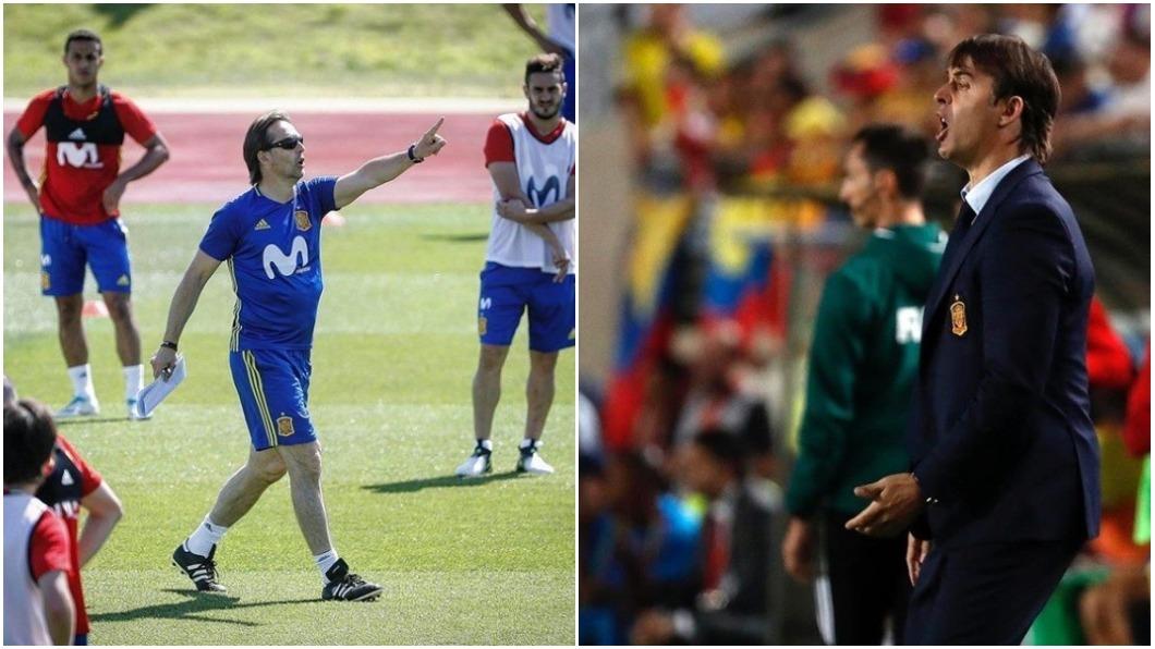 洛佩泰吉上個月和西班牙國家隊續約到2020年,24小時前就宣布自己接下皇馬隊總教練的位子,讓世足協會相當不滿。 圖/翻攝自Julen Lopetegui IG
