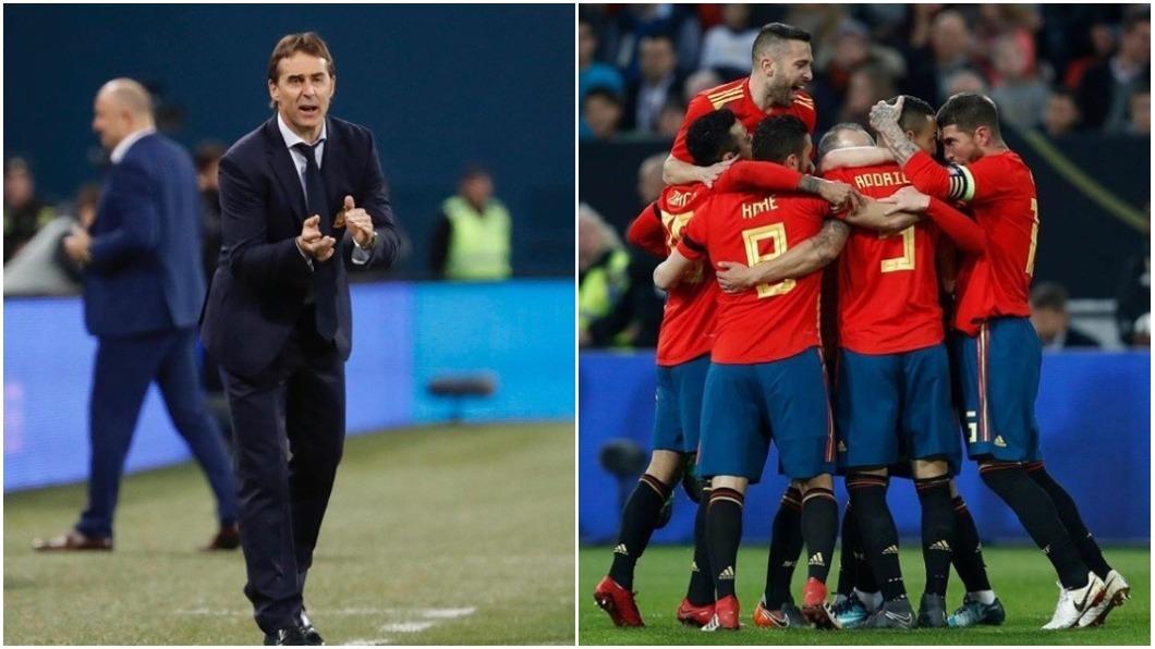 洛佩特吉帶領西班牙拿到世足門票後,卻跳到皇家馬德里兵符當總教頭;3天後西班牙首戰將迎戰勁敵葡萄牙隊。圖/翻攝自Julen Lopetegui IG 震撼彈!世足開賽前夕 西班牙鐵腕開除總教練