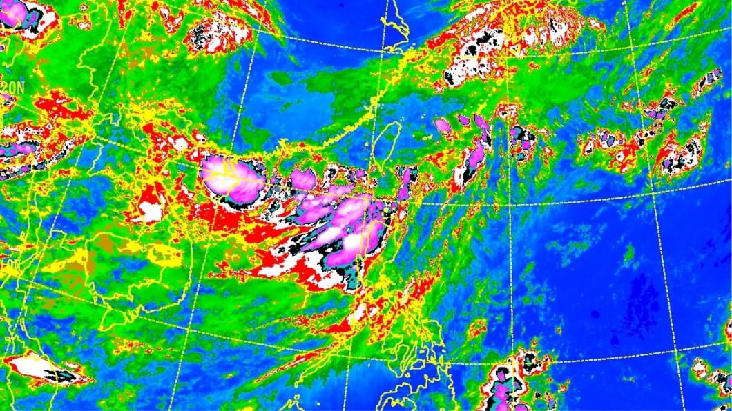 圖/中央氣象局 大雨正開始!豪雨灌中南部往北移 又有颱風將生成