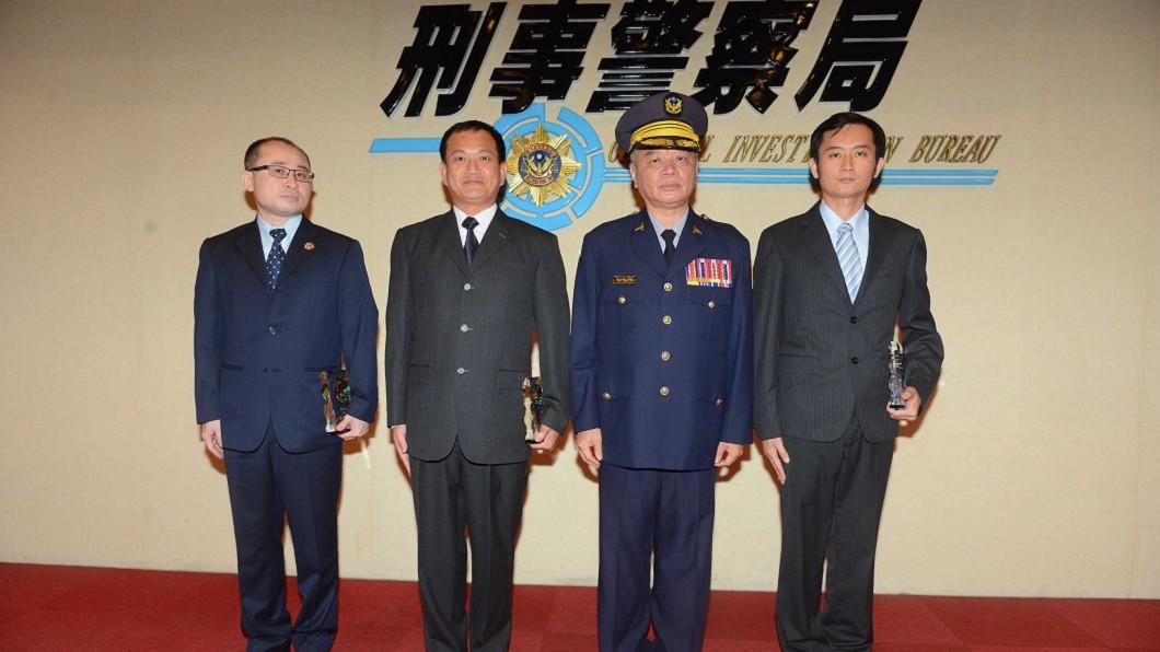 圖/刑事局提供 偵破遠銀遭駭案 陳詰昌獲選全國模範警察