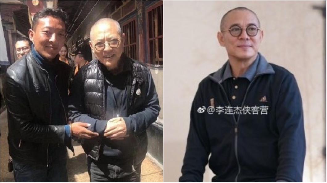 圖/翻攝自《微博》 神奇回春術?李連杰闢謠病重傳聞 現身北京比腕力