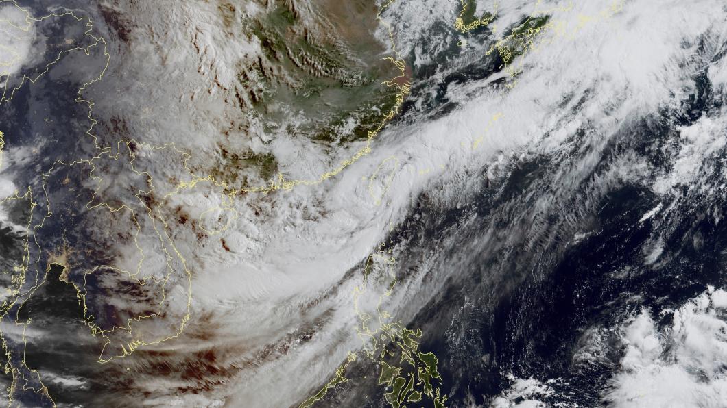 圖/中央氣象局 熱低壓「撞進高雄」!雨勢轉攻東部 宜蘭升級豪雨