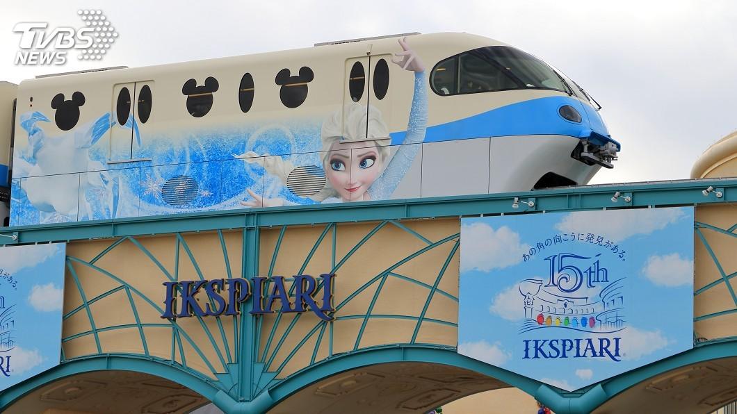 示意圖/TVBS 東京迪士尼設新遊樂區 有冰雪奇緣世界