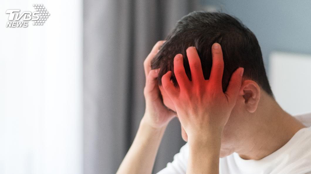 示意圖/TVBS 視野模糊限縮 可能是視網膜偏頭痛作祟