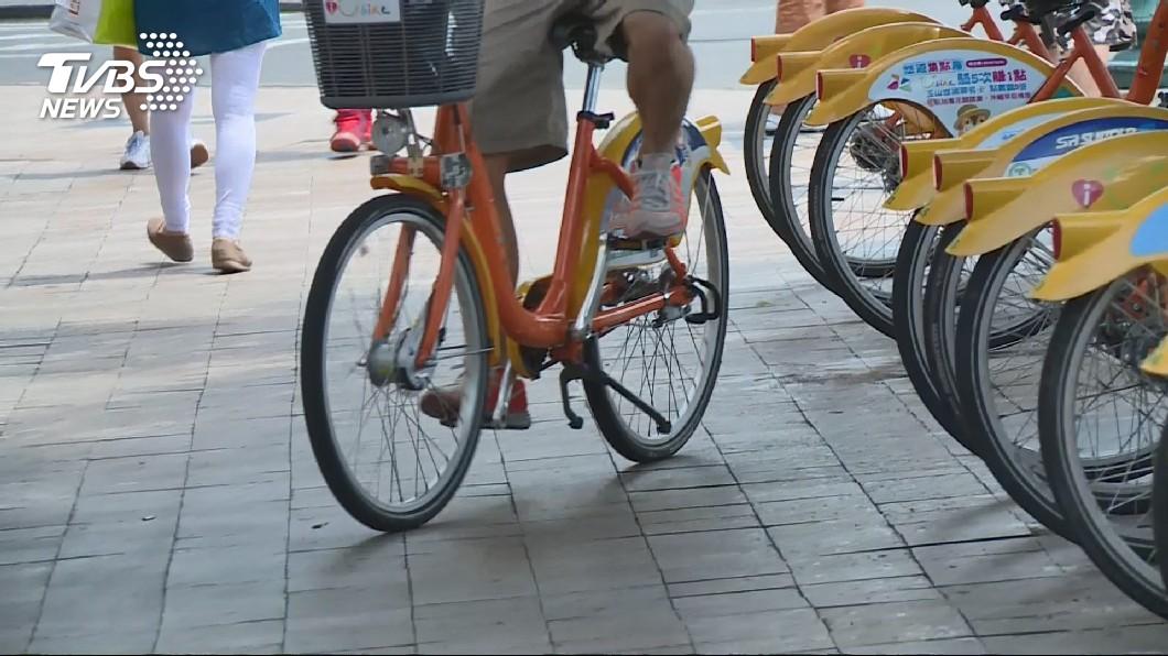 圖/TVBS 民眾月騎自行車次數 通勤、通學比例最高