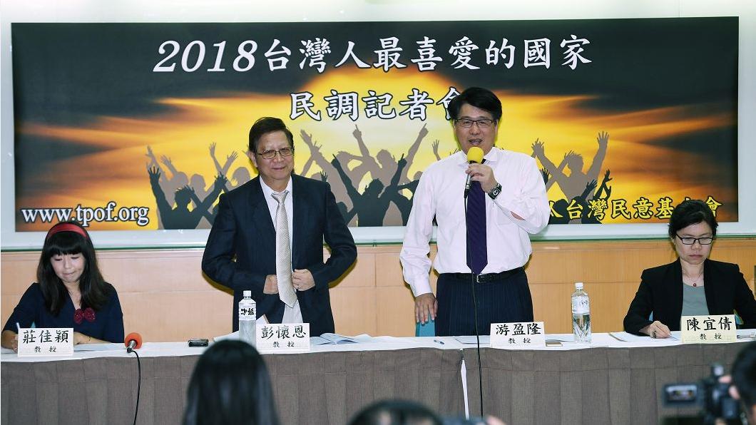 圖/中央社 台灣人最反感國家 北韓第1大陸第3