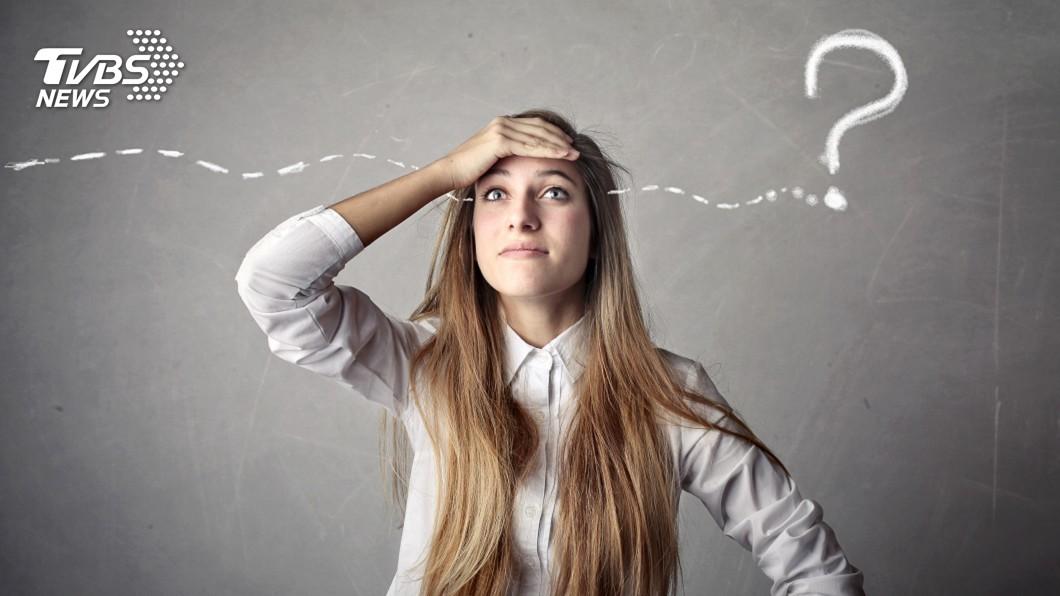 示意圖/TVBS 咦我剛剛要說什麼? 最常見的10大健忘症狀