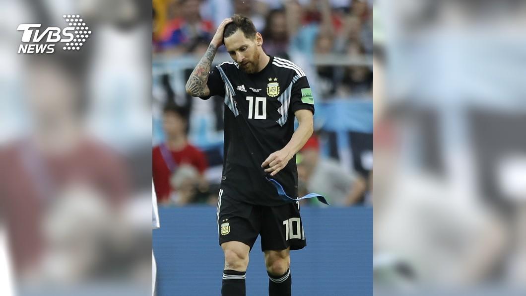 圖/達志影像美聯社(世足賽) 最渴望世足冠軍 梅西再披戰袍最後一搏