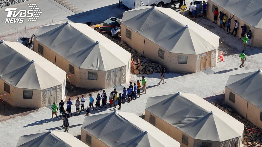 圖/達志影像路透社 邊界拆散家庭 紐約州控告川普政府