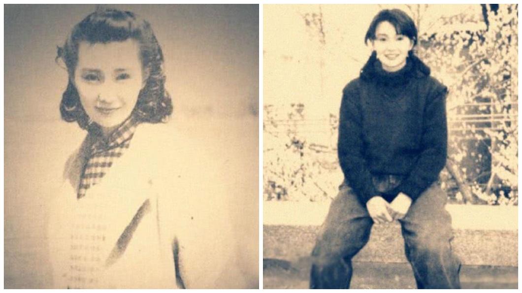 張曼玉年輕時的舊照也被翻出,網友大讚是天然美女。(圖/翻攝自微博)