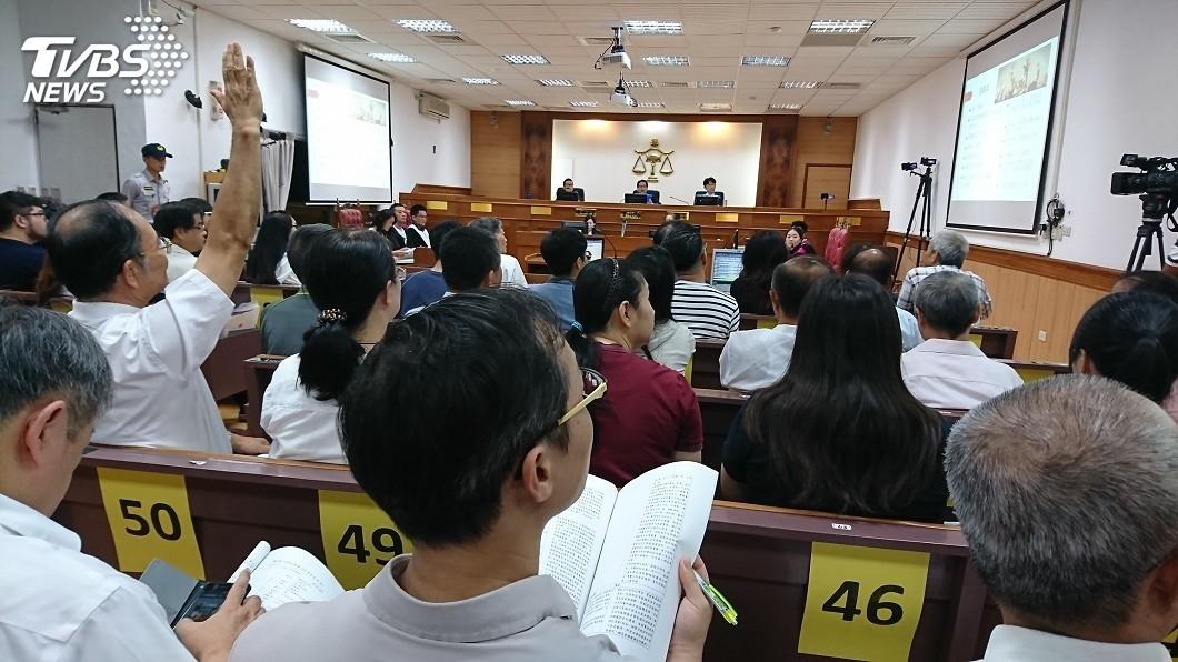 圖/中央社 國民法官參審原民弒父 台東22日開模擬法庭