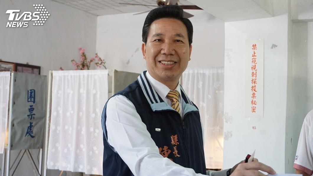 圖/中央社 參選登記 陳福海:開創新三通幸福時代
