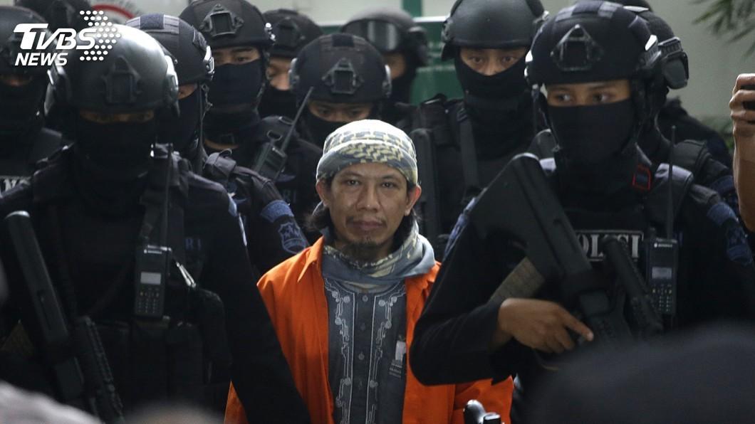 圖/達志影像美聯社 IS印尼最大分支 神權游擊隊領袖遭判死