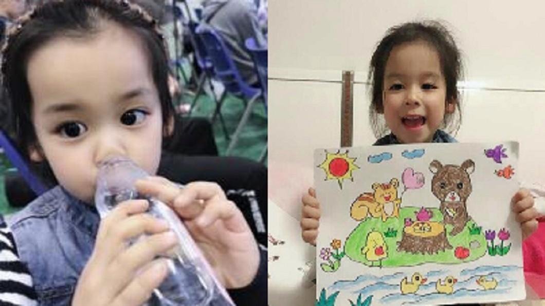 圖/翻攝自 北青網 4歲女腦幹病變 和母親打勾勾「器捐救五個家庭」