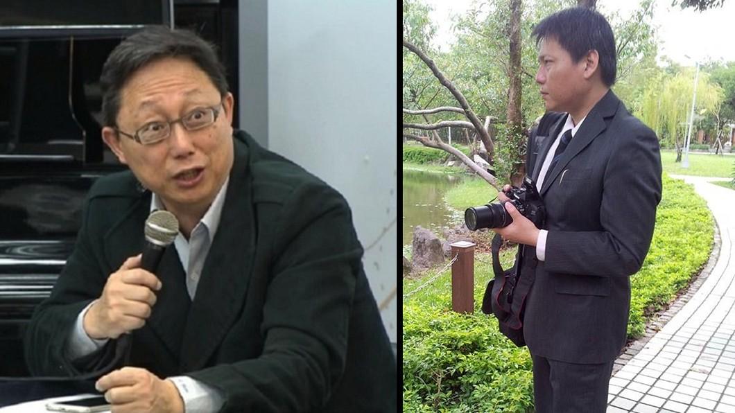 圖/TVBS資料照與翻攝臉書 姚立明轟文大生說謊 名嘴:快告他公然侮辱