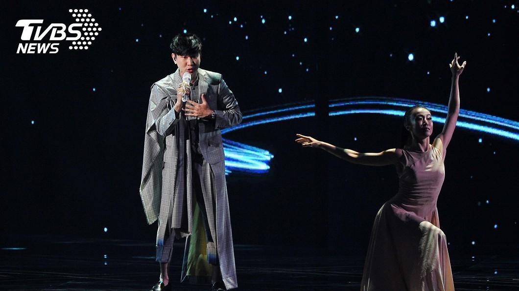圖/台視提供 行走CD!林俊傑壓軸演唱 網給2字「完美」