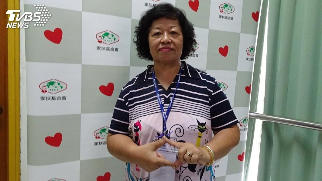 陳秀燕是家中老四,從小就受母親影響。(圖/家扶基金會提供)