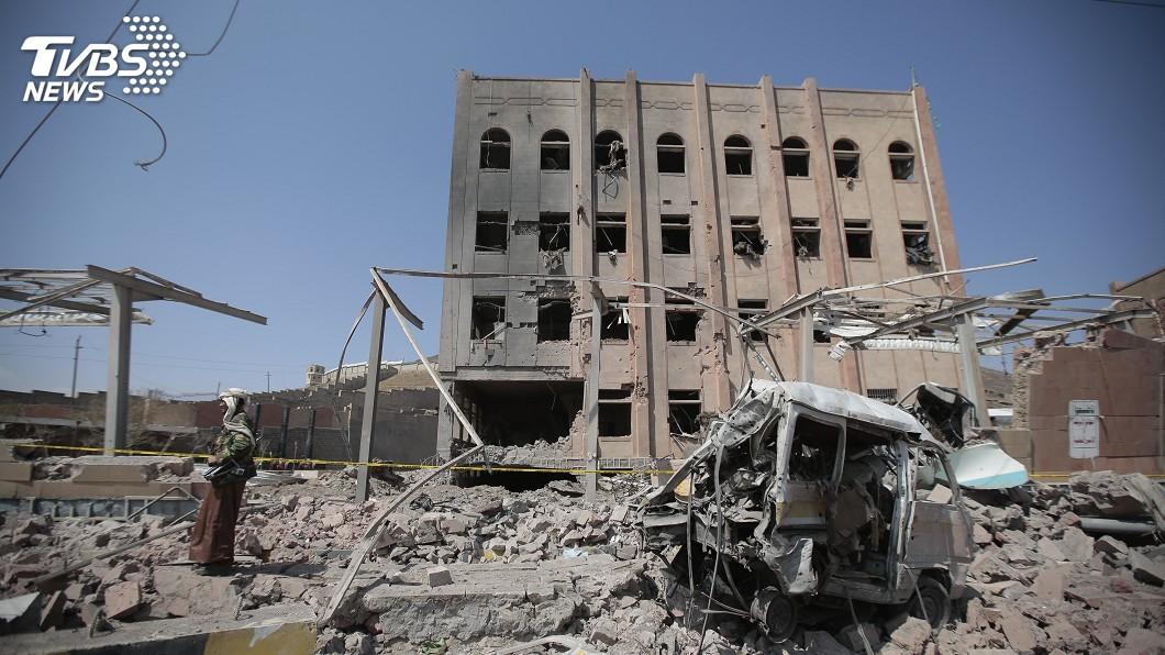 圖/達志影像美聯社 青年運動發射飛彈 沙國攔截無人傷亡