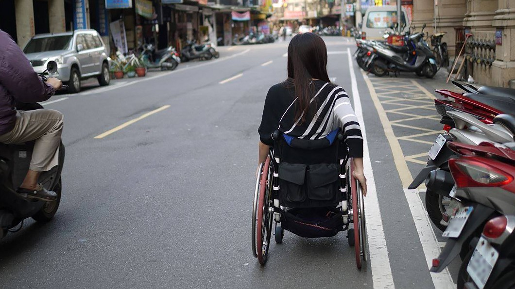 圖/余秀芷提供 缺無障礙環境 身障者連戀愛都受限