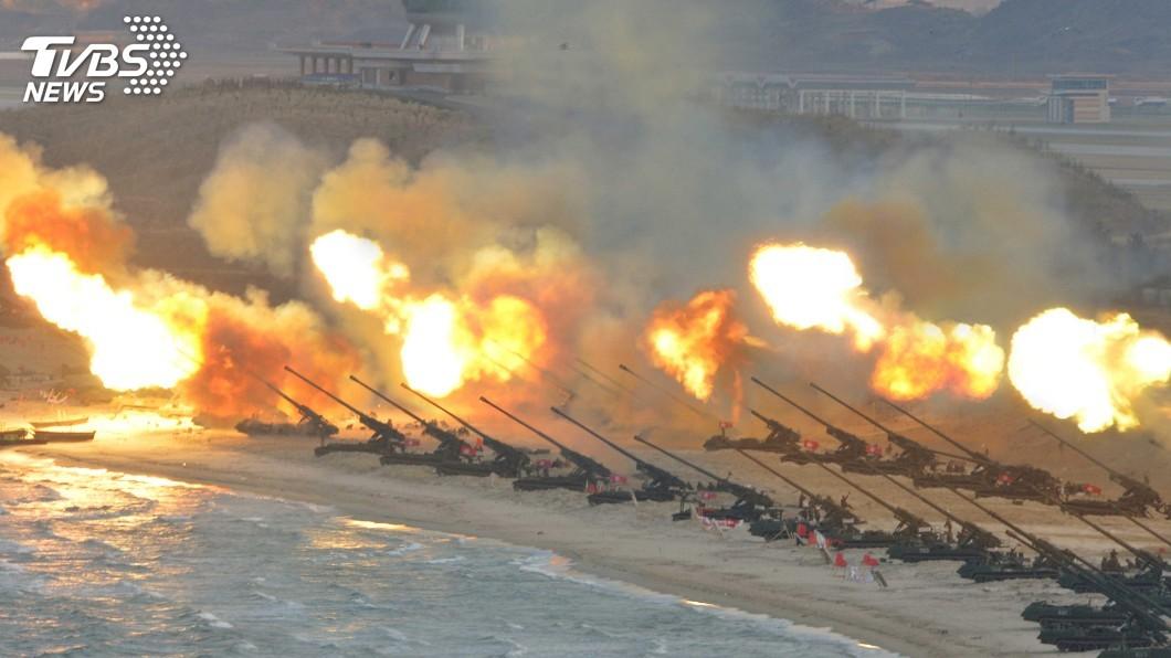 圖/達志影像路透社 南北韓軍事會談 討論北韓將火砲撤離邊界