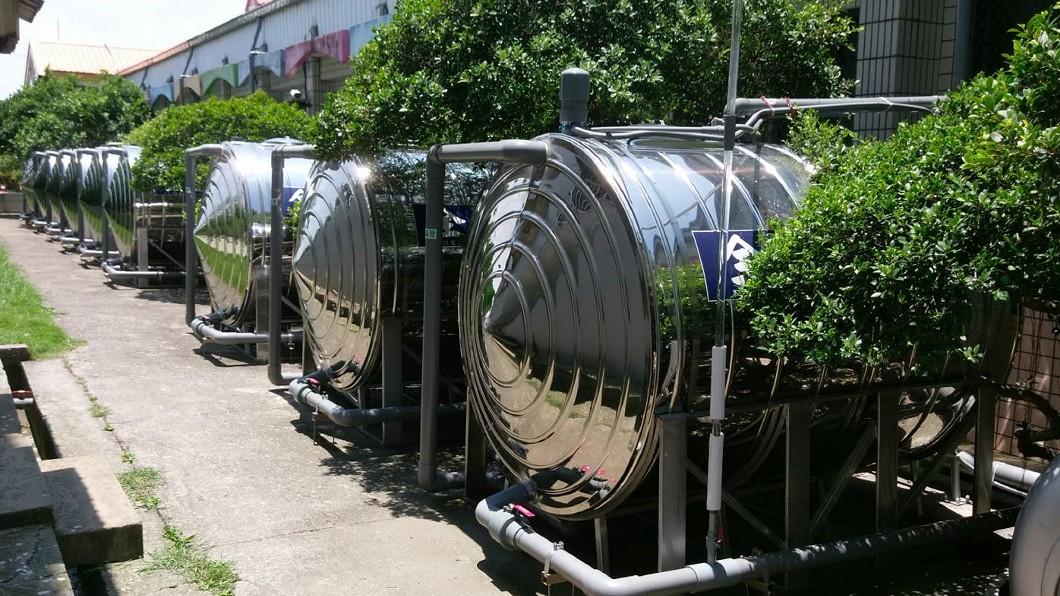 圖/南區水資源局提供 助推節水愛水 國小校園添雨水貯留系統
