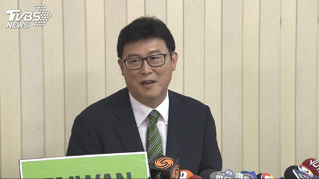 民進黨立委姚文智不斷批評台北市政。(圖/TVBS)