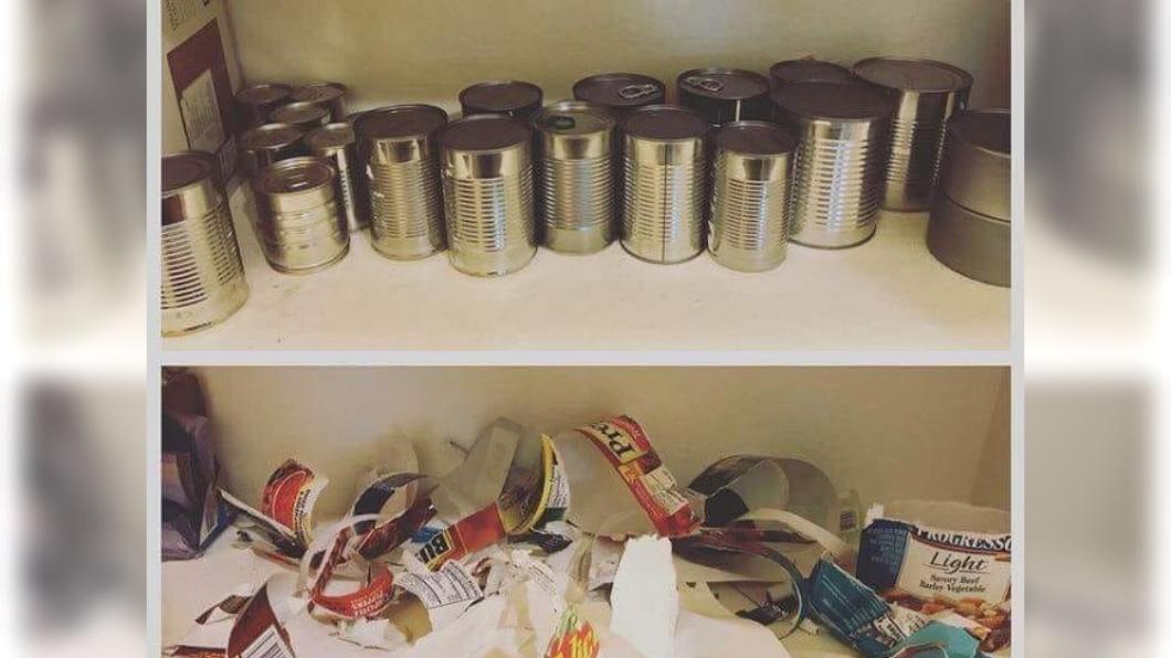 圖/翻攝自爆料公社 廚房19罐「謎之罐頭」惹怒他 網狂推:驚喜包的概念