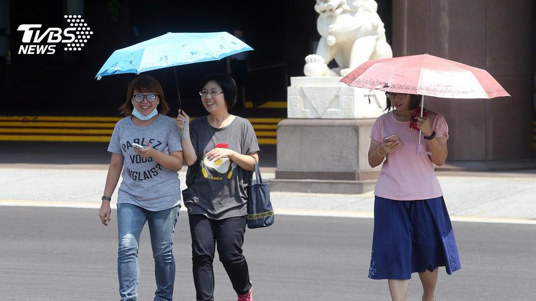 圖/中央社 快訊/好熱!衛福部統計 昨熱傷害就醫共18人次