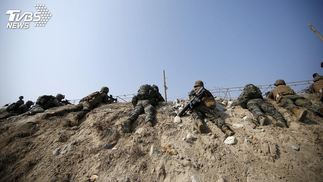 圖/達志影像路透社 避免挑釁北韓 駐韓美軍:將停止不必要的聯合軍演