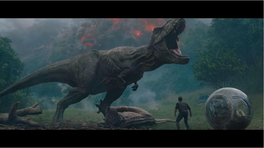 圖/翻攝自《侏羅紀世界:殞落國度》預告片