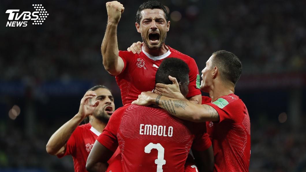 圖/達志影像美聯社(世足賽) 瑞士2比2踢和哥斯大黎加 闖入16強