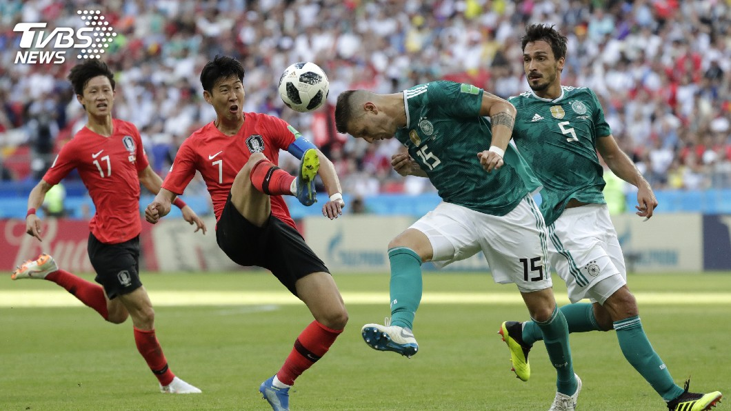 圖/達志影像美聯社(世足賽) 傷停連進2球! 南韓「世紀勝利」淘汰德國