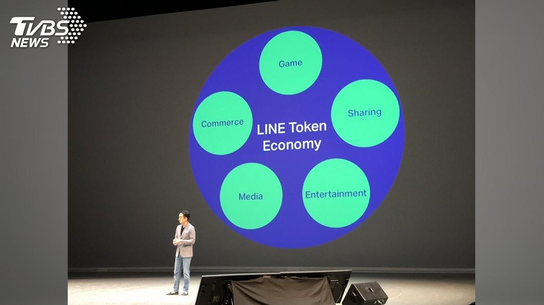 圖/中央社 LINE搶攻代幣經濟 將擴及非LINE服務