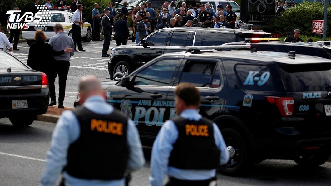 圖/達志影像路透社 槍手闖馬里蘭報社開槍 至少5死多人受傷