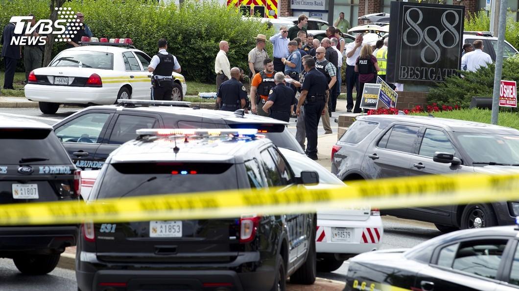 圖/達志影像美聯社 馬里蘭州報社5死槍擊凶嫌確認 曾告報社誹謗