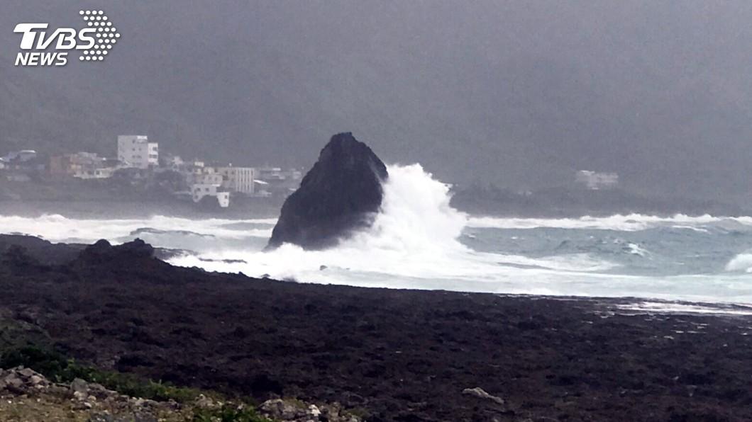 圖/中央社 利奇馬颱風影響 台東未來數日海運調整