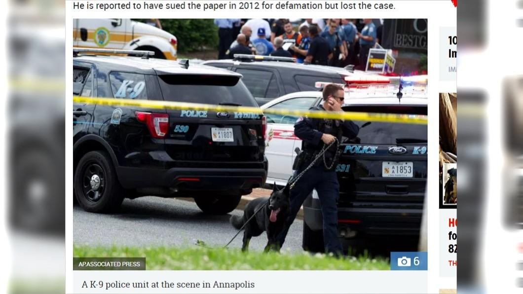 圖/翻攝《太陽報》 新聞人最黑暗的一天!他不滿報導 拿槍闖報社瘋狂掃射