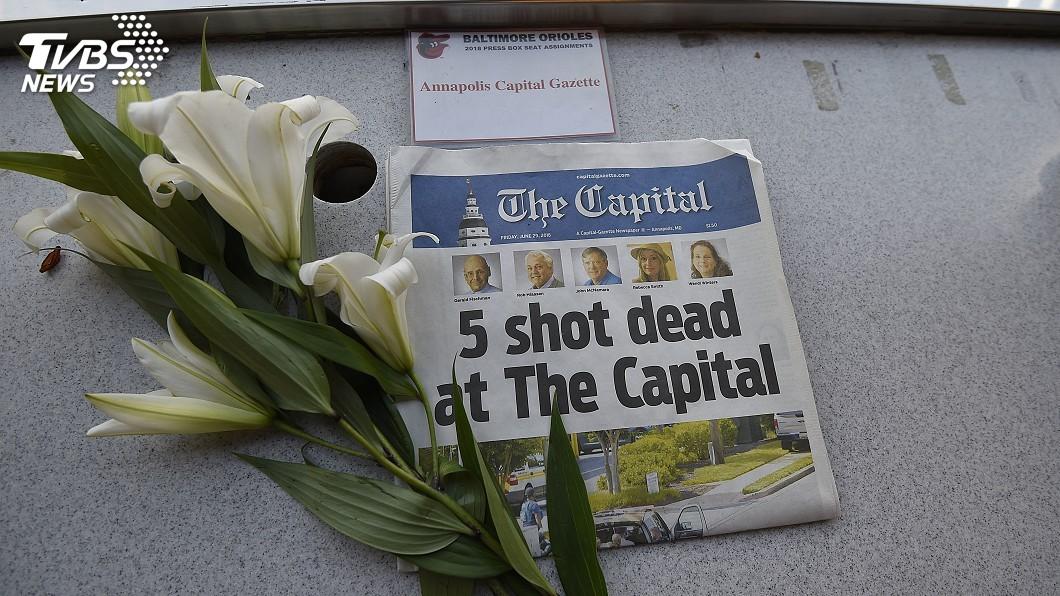 圖/達志影像路透社 馬里蘭州報社喋血! 全球媒體遭攻擊大事記