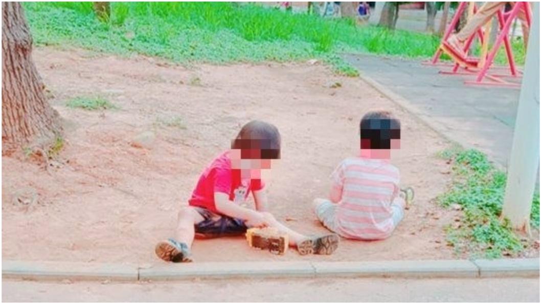 圖/爆廢公社公開版 「阿姨…我好餓」公園遇超懂事男童 背後真相惹鼻酸