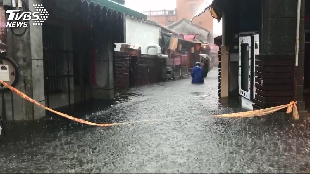 圖/TVBS 解決鹿港淹水問題 魏明谷建議設滯洪池