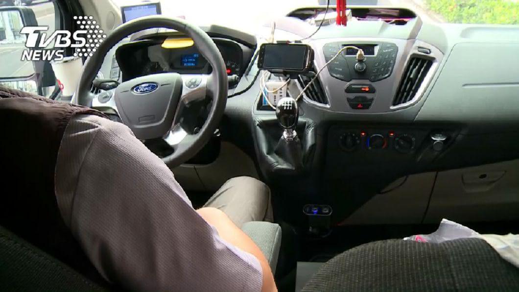 怠速示意圖。圖/TVBS 汽車怠速吹冷氣好吵 滿足「這條件」免罰單!