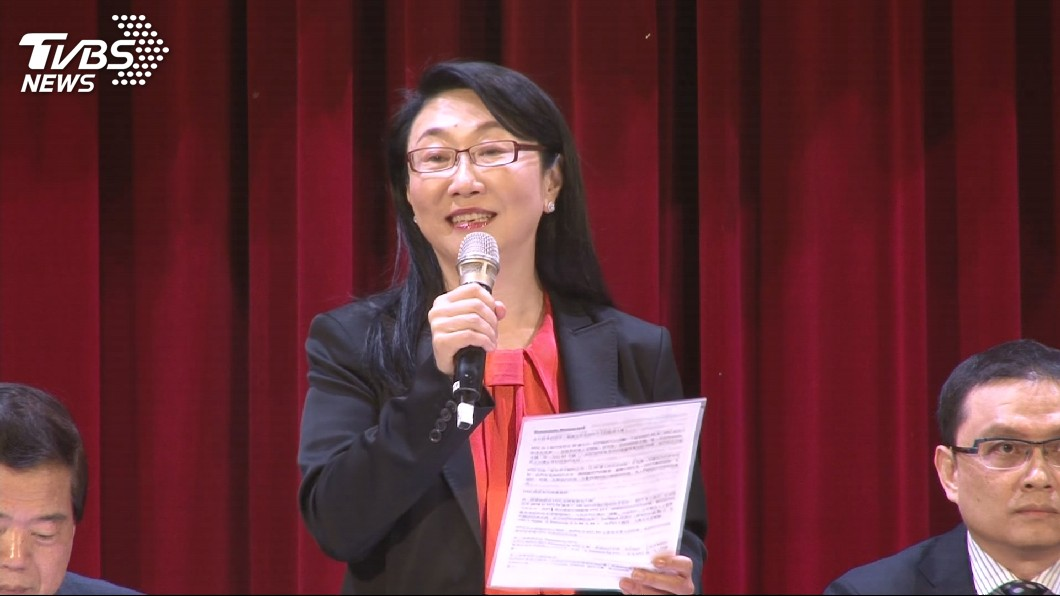 HTC(宏達電)創辦人,現任董事長及執行長王雪紅。(圖/TVBS資料畫面) HTC董事長王雪紅 榮獲Accenture虛擬實境終身成就獎