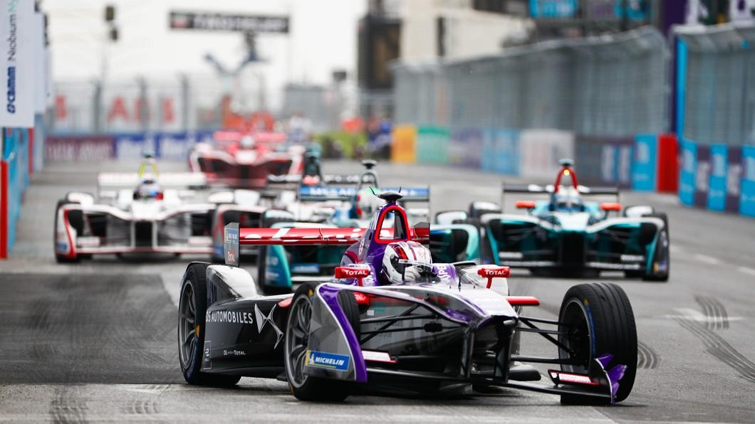 圖/翻攝自Formula E官網 Formula E電動賽車 噪音減少成未來主流