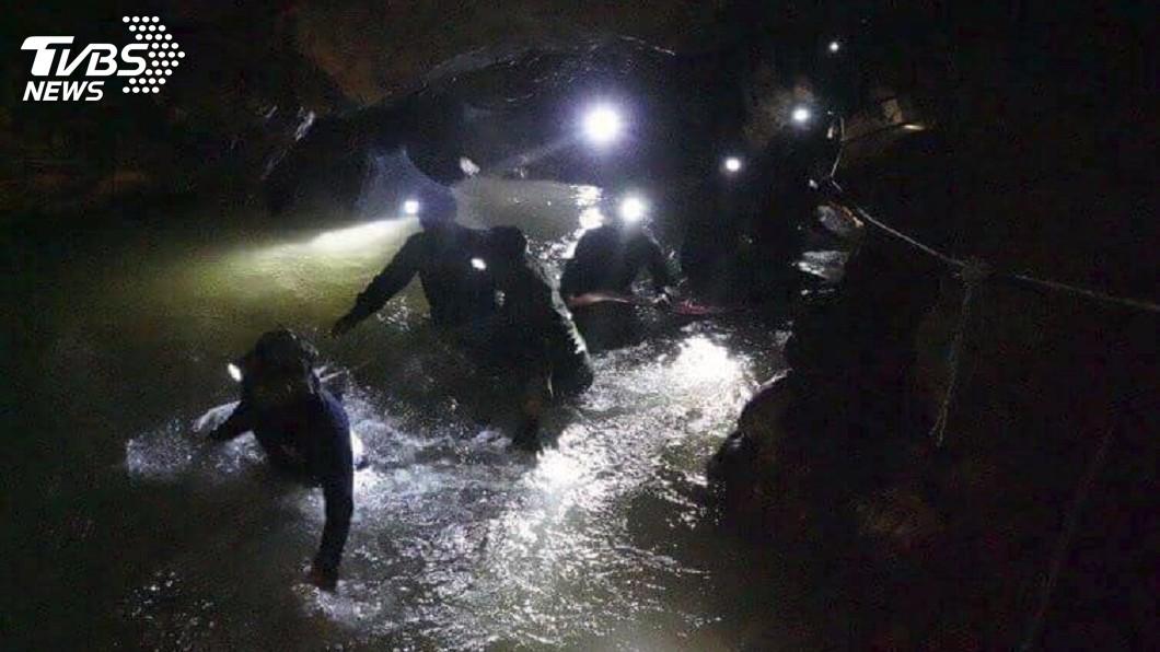 圖/達志影像美聯社 泰國受困13人 當地人透露被尋獲關鍵是這個