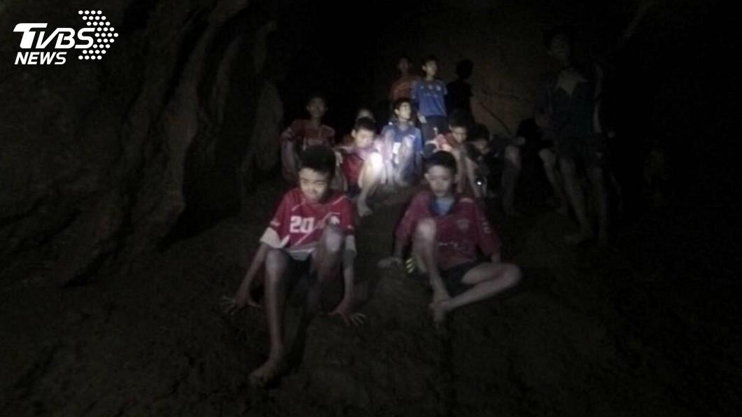 圖/達志影像美聯社 生死一線間! 泰國足球小將9天洞穴驚魂記